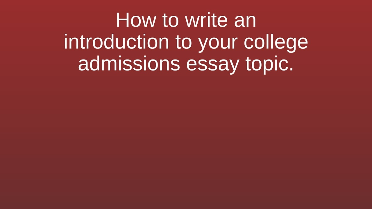 college essay intros College links college reviews college essays college articles when asked what they want for a gift, most teens would say a cd, or maybe an ipod, but i want legos.