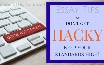 Don't Get Hacky – Keep Your Standards High!