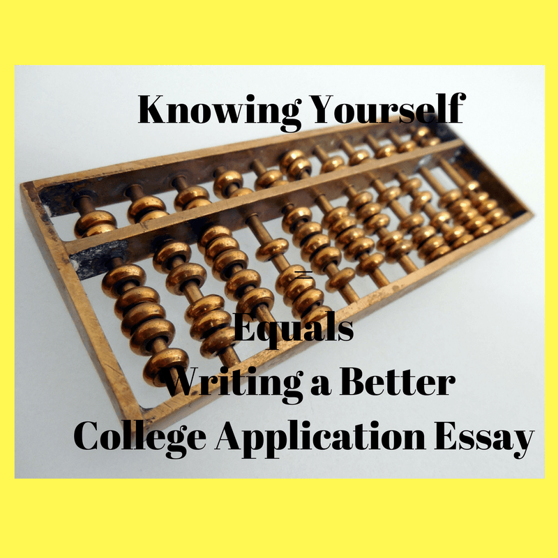 how to write a college application essay about yourself Writing the college application essay  you can write about the application essay is the only place on the  space to reveal everything about yourself,.
